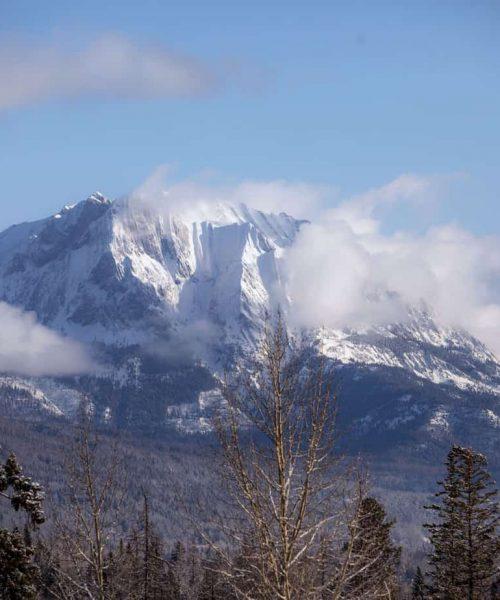Fernie Mountain House Front View