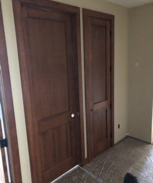 Solid Fir Doors Trim